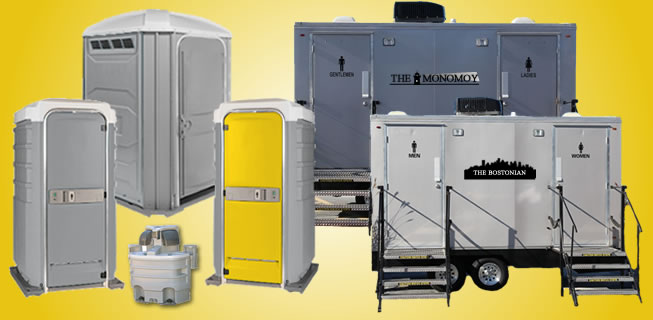 Portable toilets rental