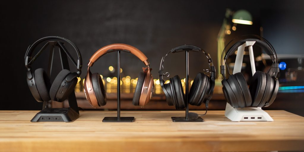 Addicted to Audio's headphone stands