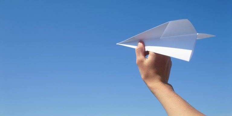How to Make Sturdy Paper Airplanes in Study Hall