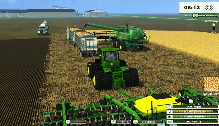 Choosing to go with the latest features of the farming simulator games